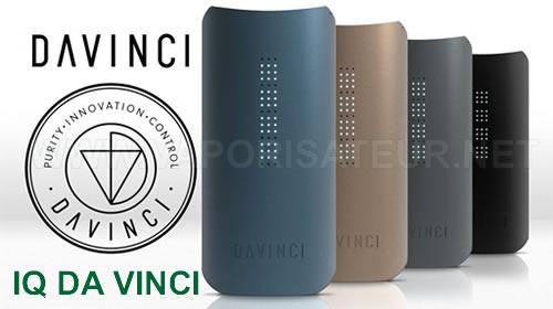 IQ Da Vinci vaporisateur portable digital en vente en France