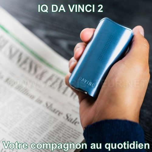 Démonstration de très grande portabilité du nouveau vaporisateur portable IQ2 Da Vinci
