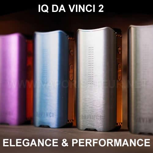 Nouveau vaporisateur portable IQ2 Da Vinci - présentation et tests de vaporisation