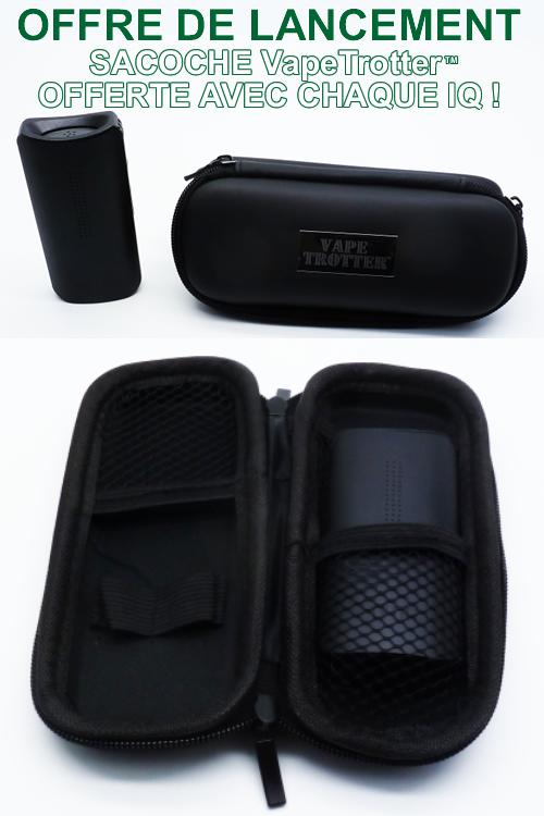 Sacoche de transport pour vaporisateur portable Da Vinci IQ