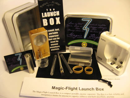 Kit complet vaporisateur Magic Flight Launch Box