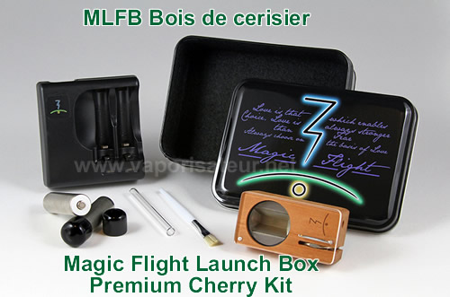 Magic Flight Launch Box Cherry Wood Kit
