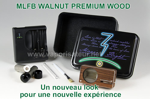 Pack vaporisateur Magic Flight Launch Box Walnut