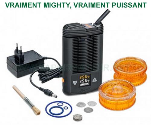 Mighty vaporisateur portable à contrôle digital de la température de la vaporisation
