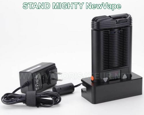Socle de recharge NewVape avec le vaporisateur portable Mighty