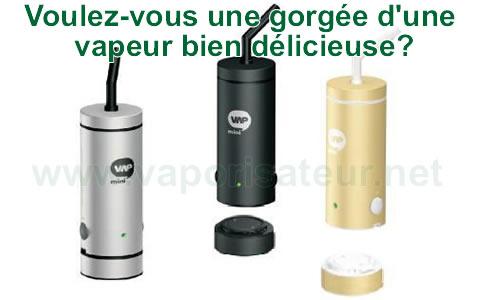 Toutes les variétés et les couleurs du vaporizer miniVAP