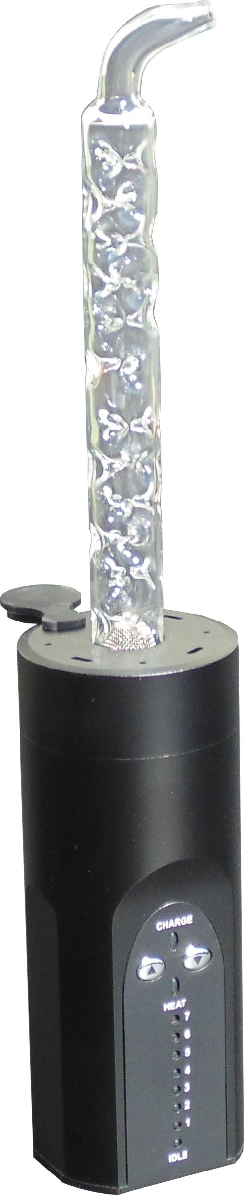 3D Flow Booster Atomic installé dans le vaporisateur Arizer Solo