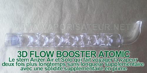 3D Flow Booster Atomic embout pour Arizer Air et Solo
