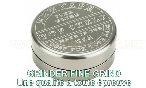 Grindrer-hachoir d'herbes Fine Grind NewVape chez le revendeur français gage d'authenticité
