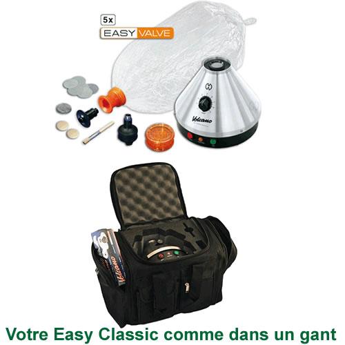 Vaporisateur Volcano Classic Easy Valve et VapeCase sac