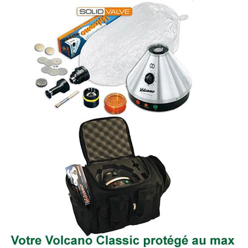 Vaporisateur Volcano Classic Solid Valve et VapeCase