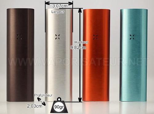 Caractéristiques principales du vaporisateur portable Pax 2