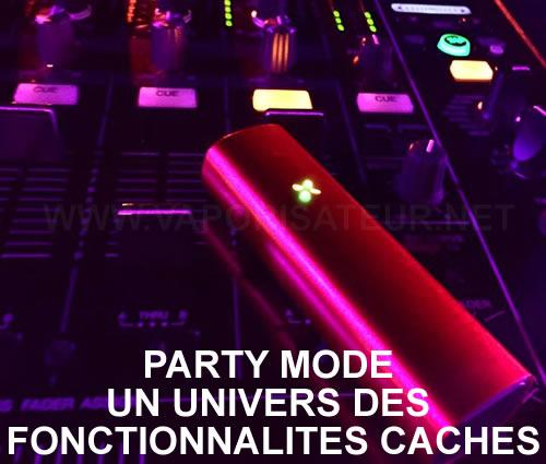 Party Mode Pax 2 - fonctionnalités cachées
