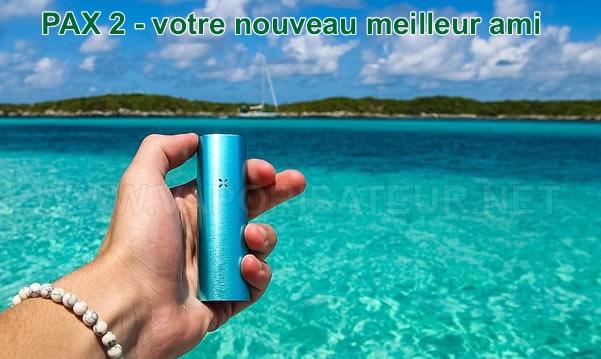 Pax 2 disponible en France auprès du distributeur autorisé