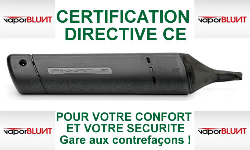 Certification CE et le respect de la directive du Pinnacle Pro