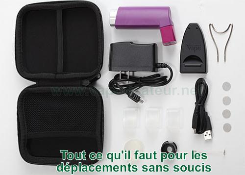 Contenu du pack vaporisateur portable PUFFiT X