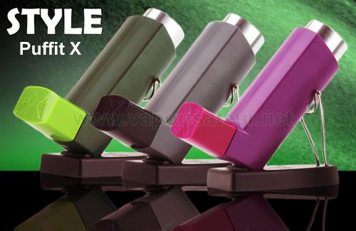 Vaporisateurs en couleur PUFFiT X - nouveau vapo