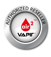 Logo fourni par Vapir qui atteste un revendeur Vapir autorisé
