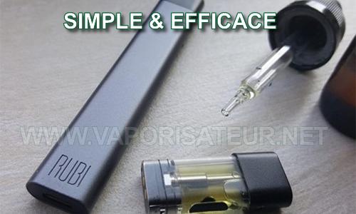 Cigarette électronique pour E-liquides CBD Rubi KandyPen