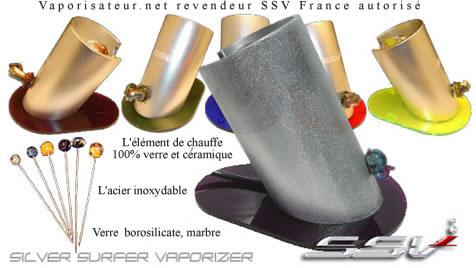Revendeur Silver Surfer vaporisateur en France
