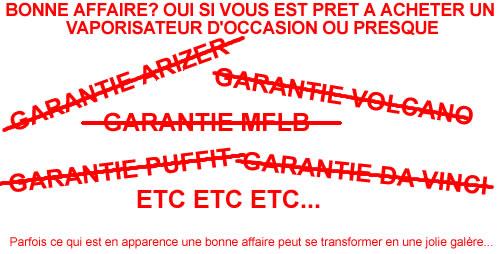 Garantie constructeur et SAV vaporisateur en France et Europe
