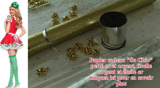 Papier cadeau pour vaporisateur