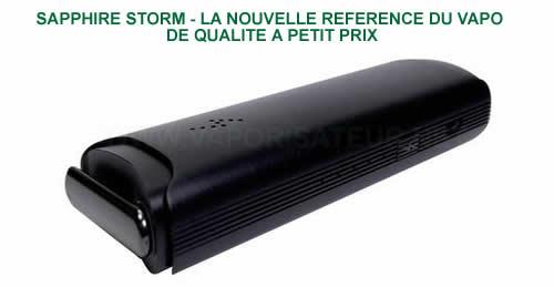 Sapphire - petit vaporisateur portable pas cher super efficace avec 5 niveaux de températures de vaporisation