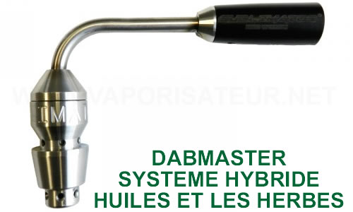 Sublimator Hybride - pour les huiles et les herbes - Dabmaster