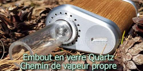 Chemin de vapeur propre - airpath safe du vaporizer Tinymight