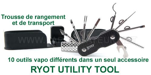 Utility Tooll RYOT - un multi-accessoire vaporisateur