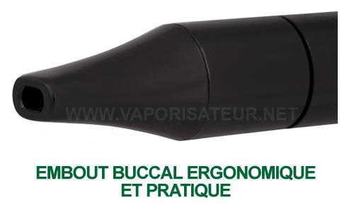 L'ergonomie d'embout buccal du vaporisateur Vapir Pen