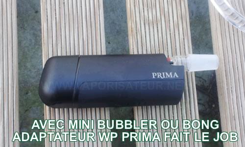 Connecteur water pipe 14-19mm pour vaporisateur portable Prima