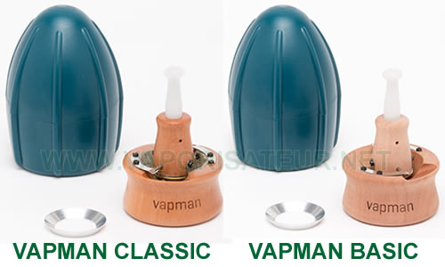 Différences de finition entre Vapman Classic et Vapman Basic