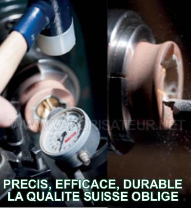 La qualité d'un fabricant de vaporisateurs Suisse Element Médical