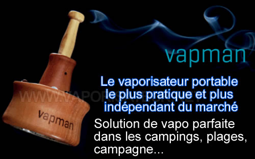 Vaporisateur portable Vapman de l'Element Medical