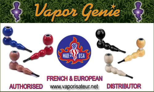 Vaporgenie vaporisateur fournisseur officiel France et Europe
