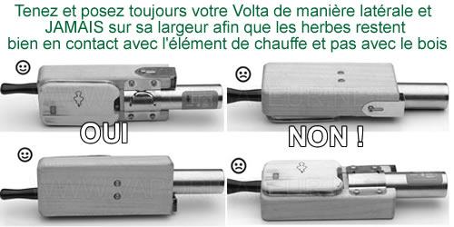 La bonne façon d'utiliser le vaporizer Volta Vaporgenie