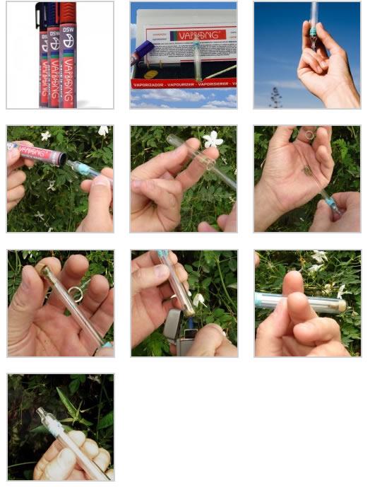 Présentation du vaporisateur portable Vapbong en images
