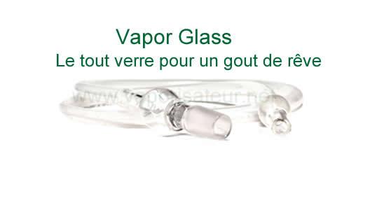 Vaporisateur viVape2 avec la pièce de chauffe en verre