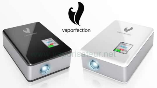 Vaporisateur viVape2 de Vaporfection - premier vapo avec écran tactile