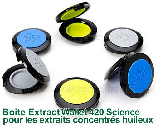 Extract Wallet - Boite à concentrés en forme de coquille