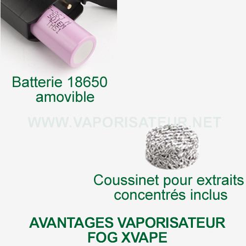 Avantages et points forts du vaporisateur XVAPE Fog