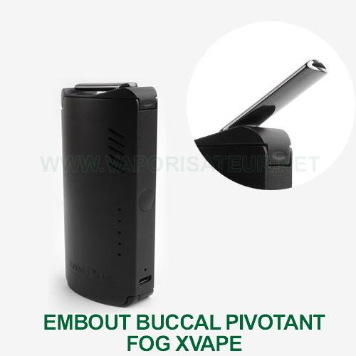 Embout buccal pivotant du Fog XMAX présenté en gros plan