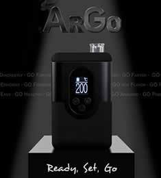 Argo le plus petit de tous les vaporisateurs portables Arizer