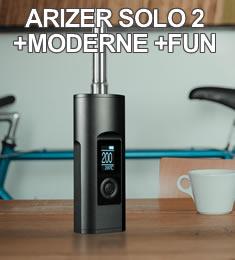 Arizer Solo 2 - nouveau vaporisateur portable digital de Arizer Tech