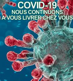 Livraisons de vaporisateurs continuent pendant le CoronaVirus